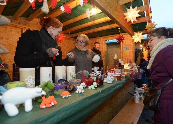 Weihnachtsmarkt Schweindorf 30.11.2014